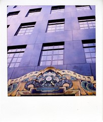 Where Art Deco? (akki14) Tags: london sx70 artdeco guessed guesswherelondon polaroid600 gwl guessedbysimonknight
