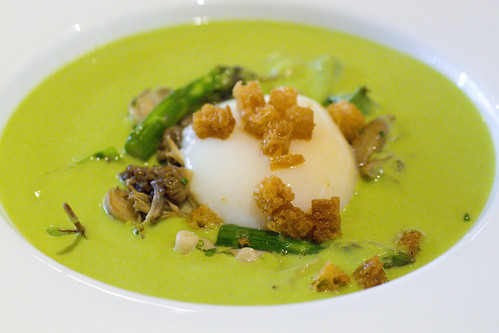 Knoll Krest Farm Egg with Asapragus Veloute