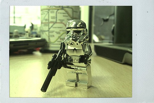Polaroid Stormtrooper
