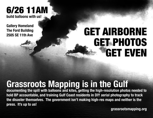 Grassroots Mapping poster