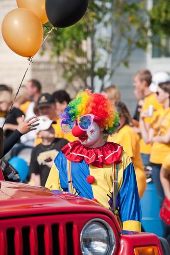 Mizzou Homecoming 2010 Some clown