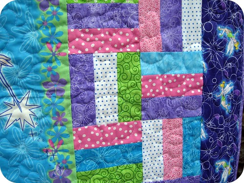 Tinkerbell Charity Quilt