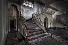 Abandoned (edmundlwk) Tags: old abandoned halloween stairs singapore palace tyersallhouse istanawoodneuk canon7d tokina116 tokina1116