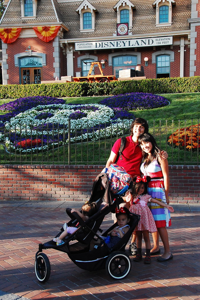 first family trip to disneyland