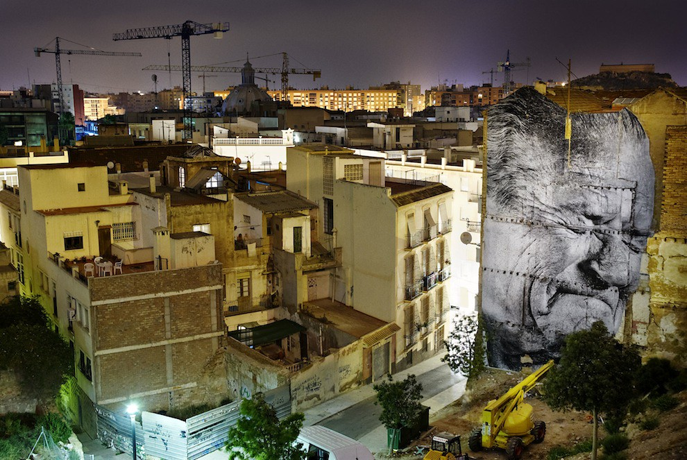 5127018637 acb0dce1f8 b Artist JR   Street art raising questions across the world [24 Pics]