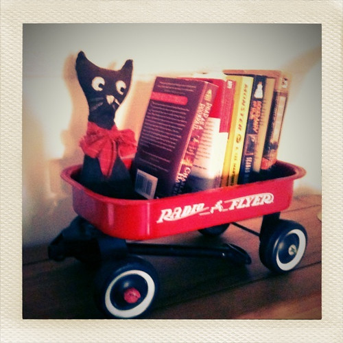 Little radio flyer wagon