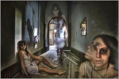 The Invisible Guests (Raffaele Preti) Tags: girls girl nikon doll dolls fear ghost horror ghosts fantasma hdr ragazza bambole bambola nissin paura d90 fanrasmi