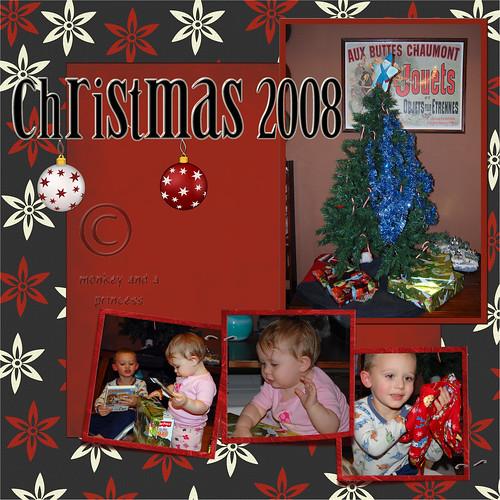 Christmas 2008 page 1 wc
