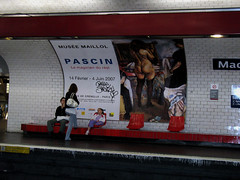 PARIGI - Mtro Madeleine (gabrilu) Tags: people paris france underground subway europe metro madeleine parigi mtroparisien metropolitaine