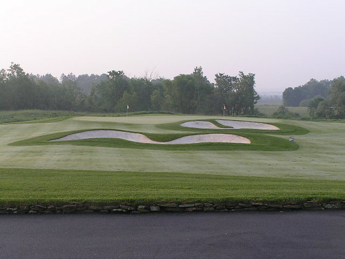 Short game area, Atunyote Golf Course, Turning Stone Resort, Verona, New York