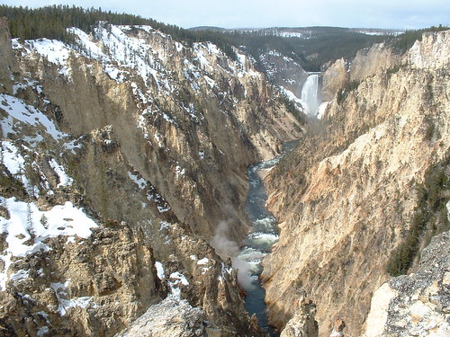 Yellowstone - the Falls