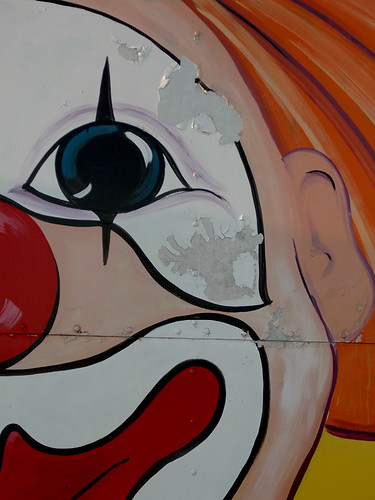 Faded clown