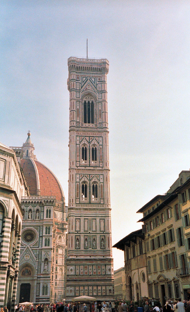 Bell tower of Giotto, Florence, Tuscany, Italy.