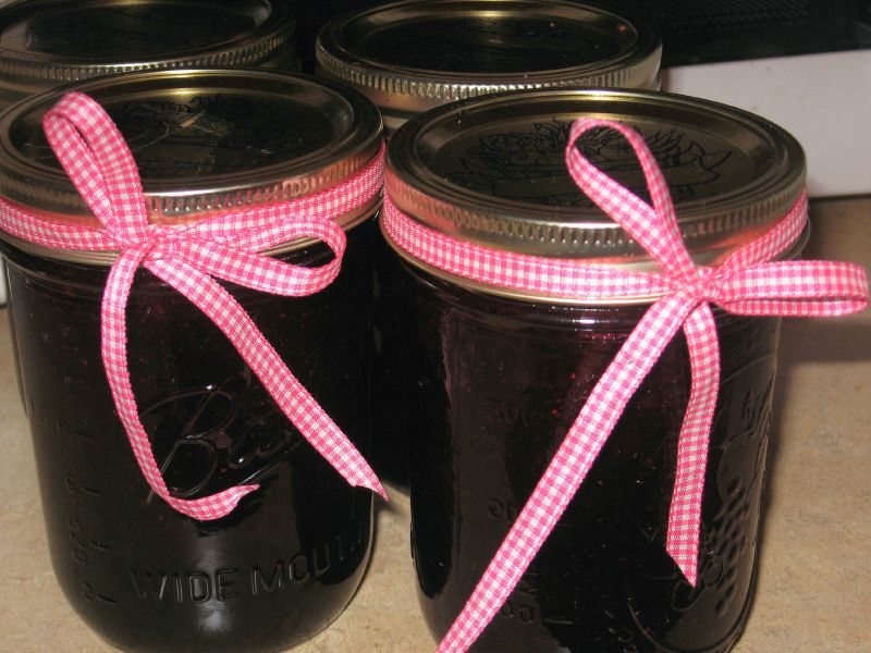 Blueberry Jam Jars!