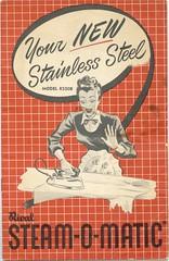 Steam-O-Matic (Cowtools) Tags: vintage iron joy steam ephemera illo booklet ecstasy manual appliance