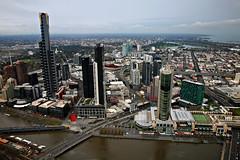 South Melbourne Skyline (Xenedis) Tags: city architecture australia melbourne victoria casino southbank vic crown eurekatower yarrariver