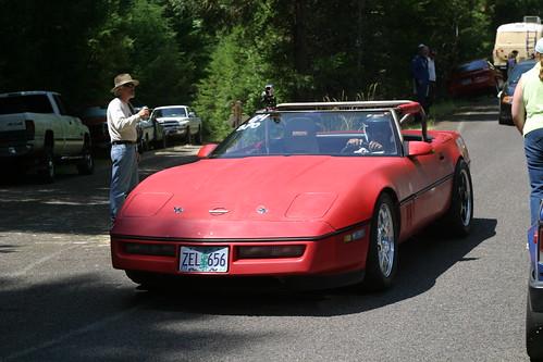 1984 Corvette Hillclimb Car