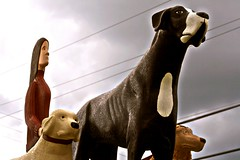 Dog Mountain Statue