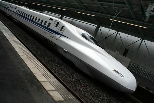 新幹線│乗り物│無料写真素材