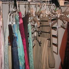 Half-empty closet