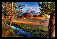 Moulton Revisited (James Neeley) Tags: bravo searchthebest tetons soe hdr grandtetonnationalpark magicdonkey 5xp moultonbarn colorphotoaward irresistiblebeauty goldenphotographer diamondclassphotographer flickrdiamond jamesneeley