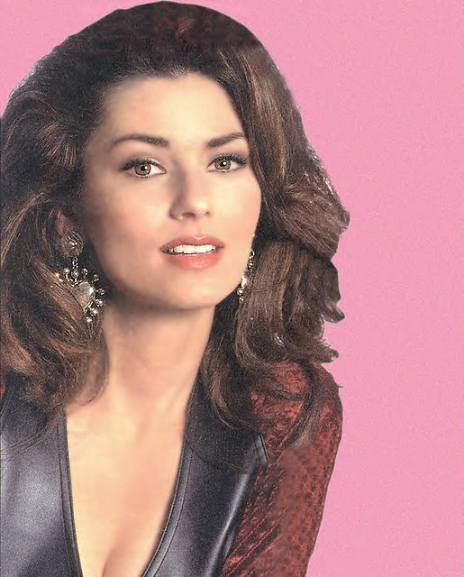 Shania Twain Close-up Younger Years by thegatico692004
