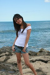 rz summer5 (summerjewel56) Tags: woman hot sexy beach girl lady hawaii vince sunny babe korean koolina ptp