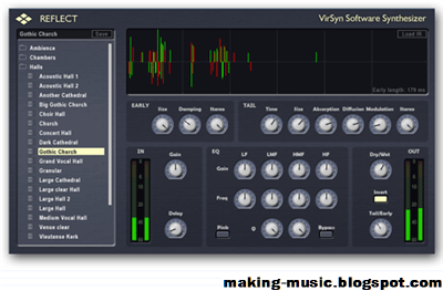 virsyn reflect music making software