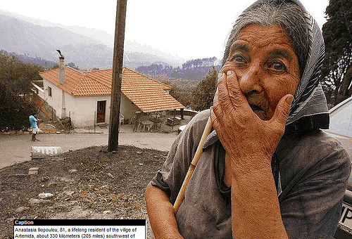 HLN - Griekenland bosbrand