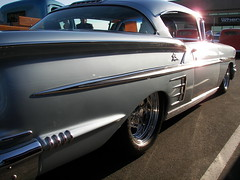 58 Impala (Dusty_73) Tags: auto hot classic chevrolet car vintage chevy fresno 1958 rod impala
