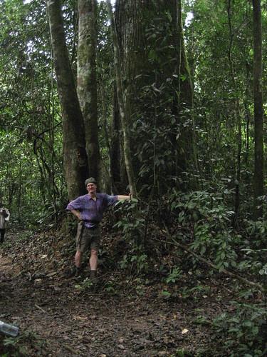 John on Afarama trail