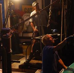 Offloading (*CA*) Tags: night work ma boat capecod wellfleet