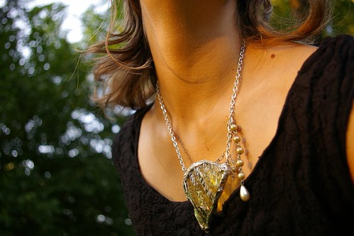 Broken Plate Necklace