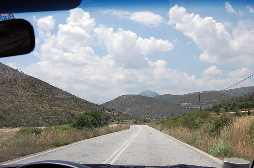 greece - driving nafplio to epidavraus