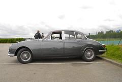1967 Jaguar 240 saloon (pontfire) Tags: auto france cars car sedan classiccar automobile normandie jaguar autos oldcar berline 240 eure luxurycar sportcar louviers jaguar240 jaguarcar britischcar