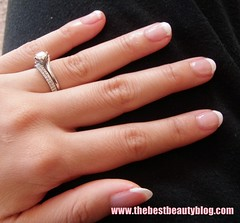 Bourjois, french manicure, DIY, nail polish