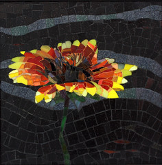 Carol Shelkin (Lin Schorr) Tags: art mosaic giving bloom fundraising donations mdecinssansfrontires doctorswithoutborders onlineauction mosaicart linschorr carolshelkin artdonations linschorrcom mosaicauction mosaicdonations