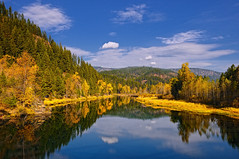 Autumn Allure (Phil's Pixels) Tags: autumn fallcolors idaho rivers soe cataldo coeurdaleneriver platinumheartaward