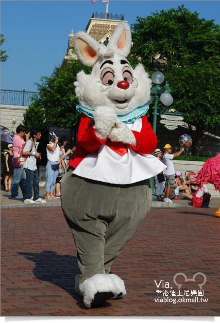 【香港迪士尼】跟著via玩香港(3)~迪士尼卡通人物歡樂巡遊19