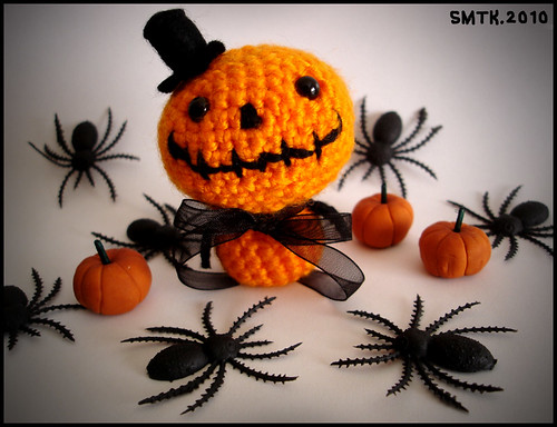 Mister Halloween.handmade crochet