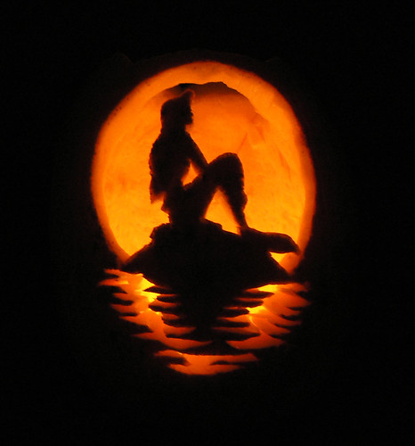 31  Inspiration - Little Mermaid Pumpkin by StephieT