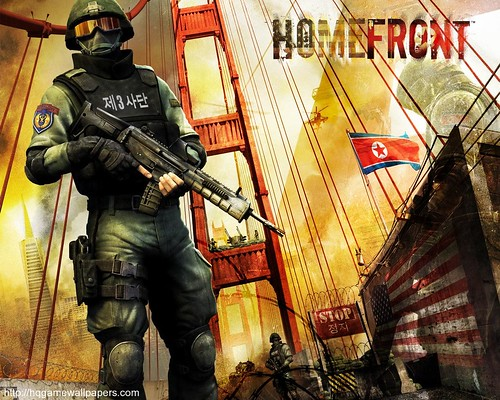 games wallpapers hd. Homefront-Game wallpaper
