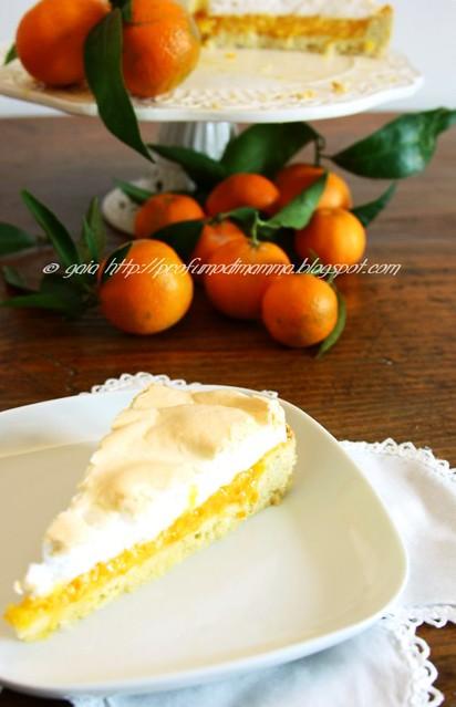 Torta con clementine