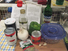 ingredients for ropa vieja