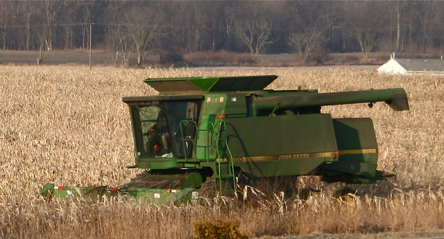 John Deere Corn Harvesting
