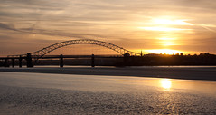 England - Cheshire - Widnes - Silver Jubilee Bridge - 28th October 2010 -24.jpg (Redstone Hill) Tags: england mersey widnes halton rivermersey silverjubileebridge runcornwidnesbridge