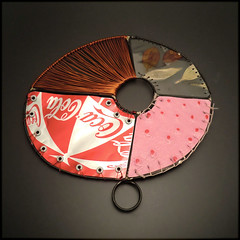 RAD 315 (victoria takahashi / experimetal) Tags: thread leather aluminum steel coke copper laminate fabricated monofilament 111110 victoriatakahashi rad2010 ringaday rad315