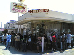 The Line at Pink's