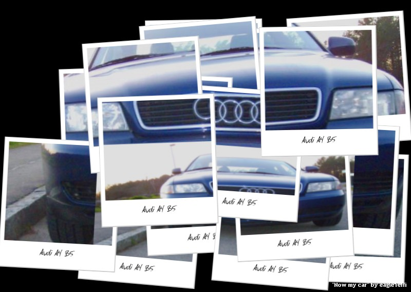 Audi A4 B5 Blue. My lue auto now - Audi A4 Model B5 | Flickr - Photo Sharing!
