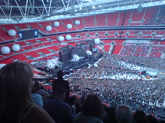 Stage before Muse